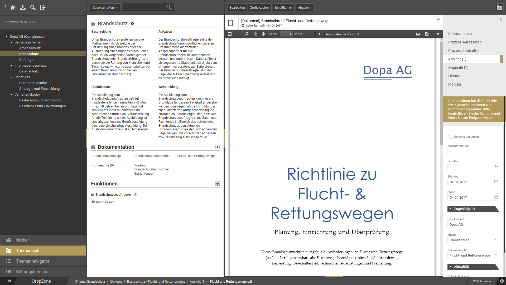 otris compliance - Richtlinienmanagement 1