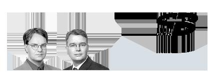 Meilenstein 1998 - Dr. Christoph Niemann und Dr. Frank Hofmann gründen die otris