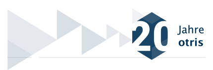 Meilenstein 2018 - 20 Jahre otris software AG