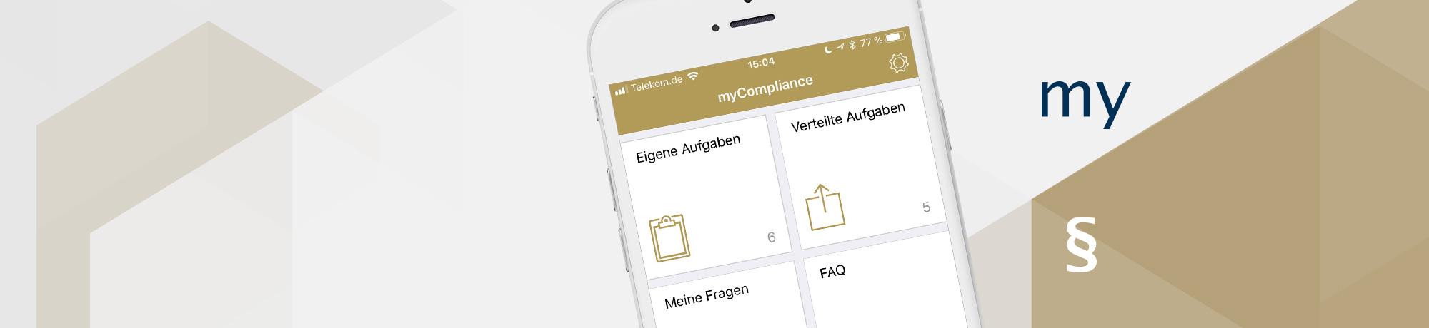 Mobiles Compliance-Management mit der otris App myCompliance
