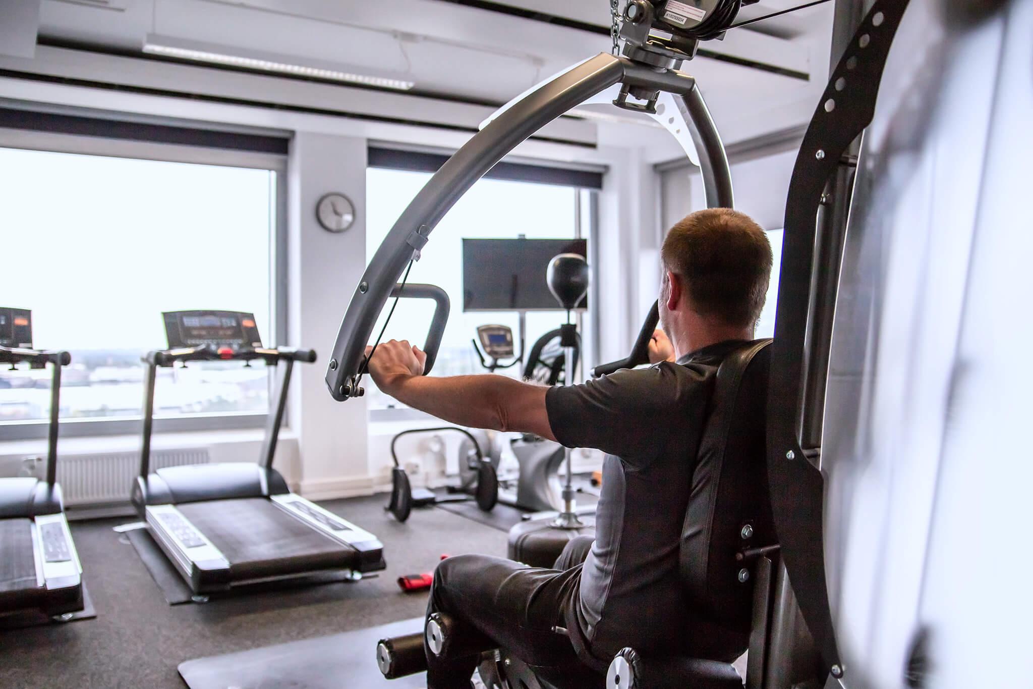 Blick ins otris-Fitnessstudio