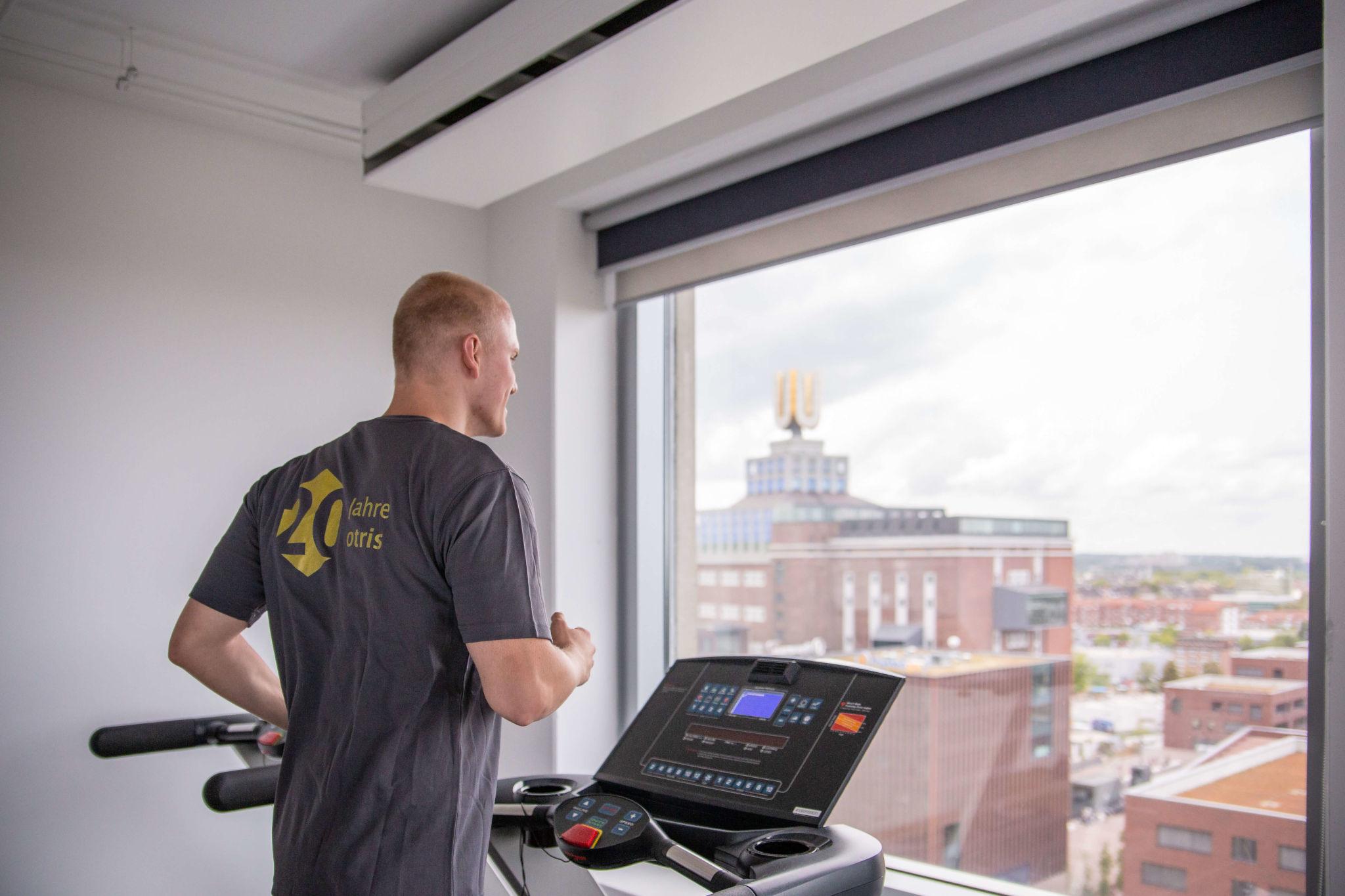 Bild Fitnessstudio der otris software AG