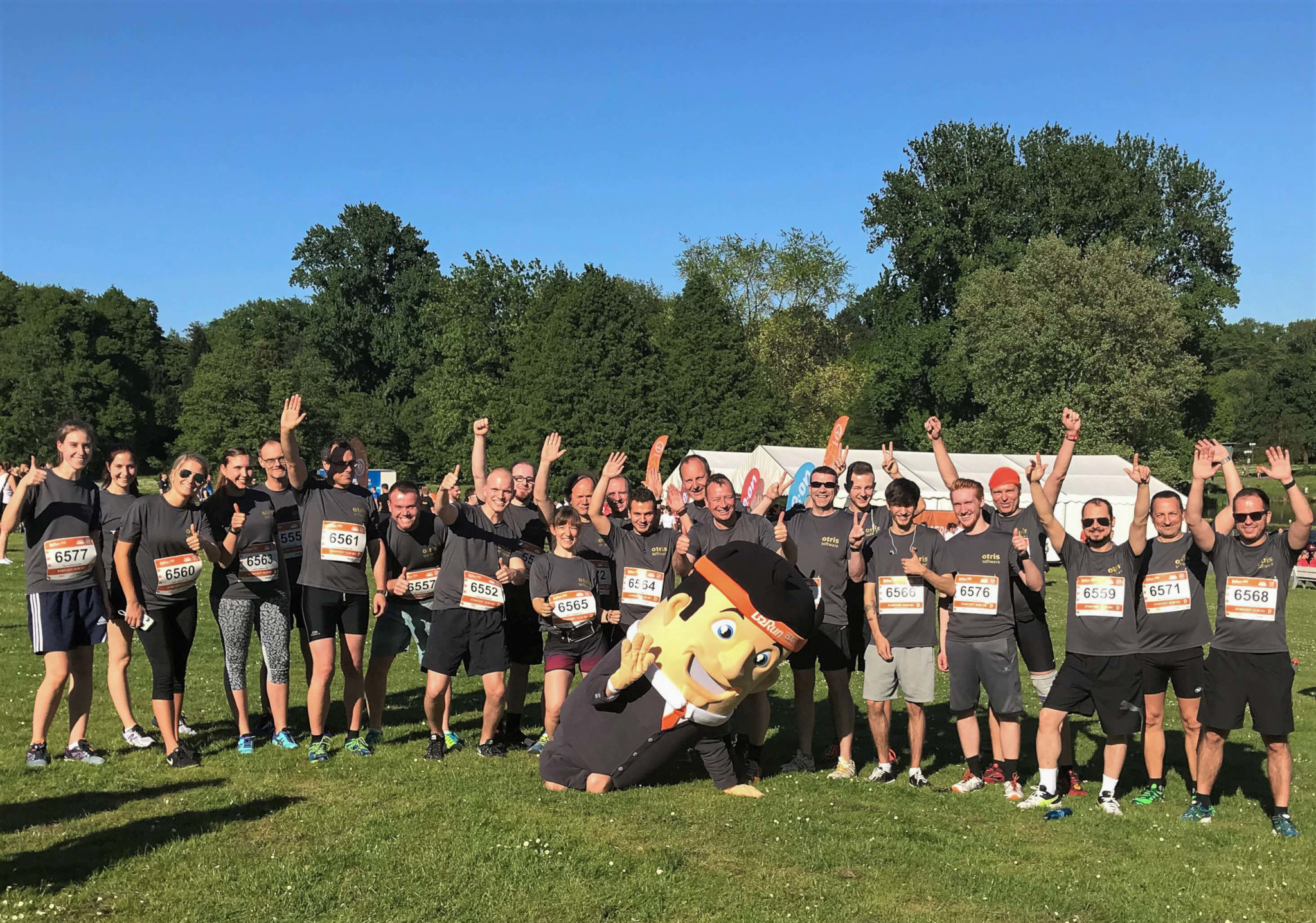 Die otris software beim B2Run